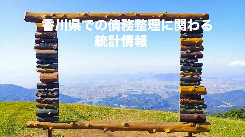 香川県での債務整理に関わる統計情報