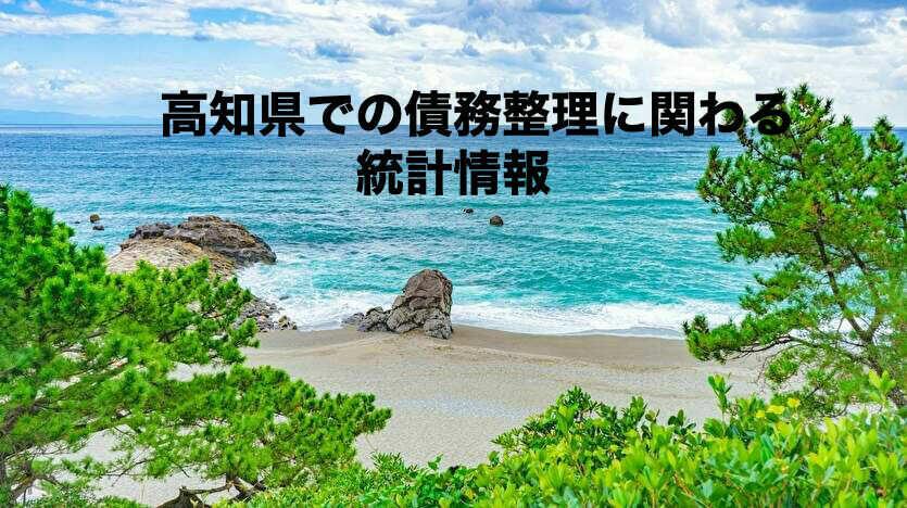 高知県での債務整理に関わる統計情報