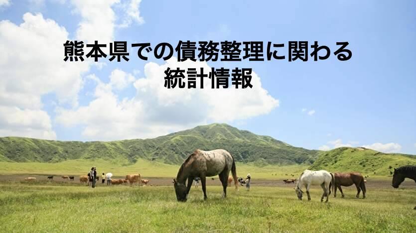 熊本県での債務整理に関わる統計情報