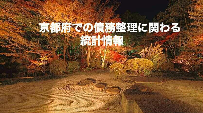 京都府での債務整理に関わる統計情報