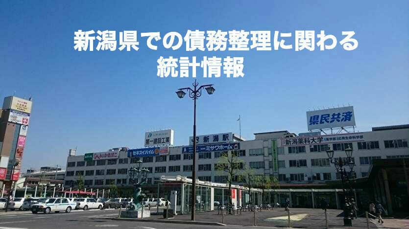 新潟県での債務整理に関わる統計情報
