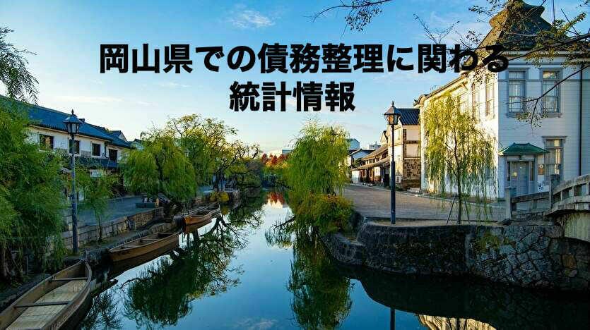 岡山県での債務整理に関わる統計情報