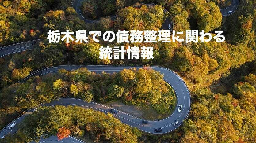 栃木県での債務整理に関わる統計情報