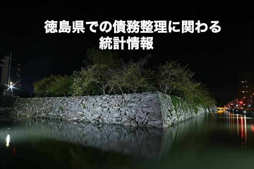 徳島県での債務整理に関わる統計情報