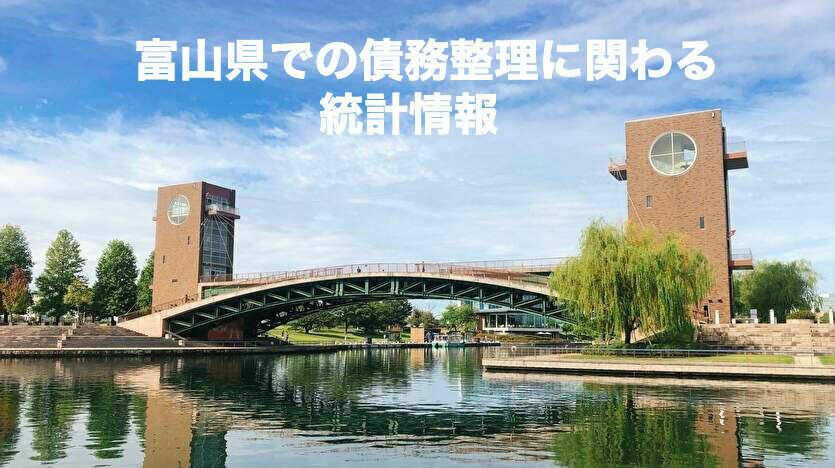 富山県での債務整理に関わる統計情報